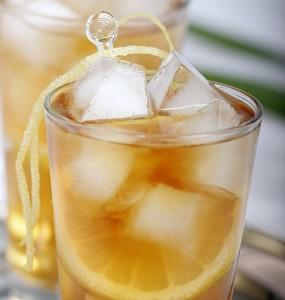 холодный чай с лимоном фото