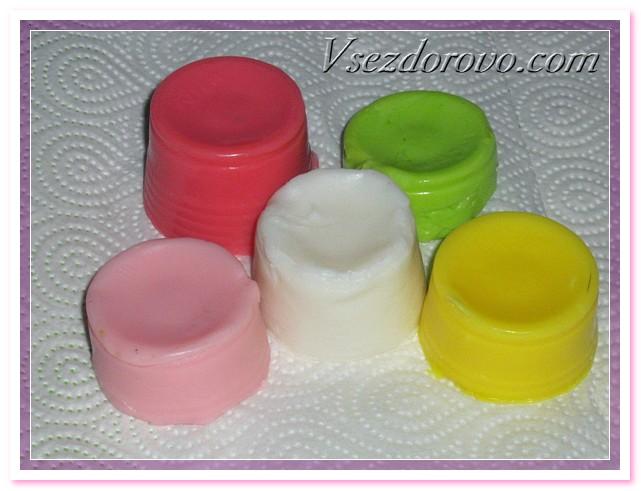 вынимаем мыло из формочек
