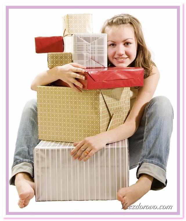 подарочки, кому подарочки?