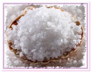 морская соль макро фото
