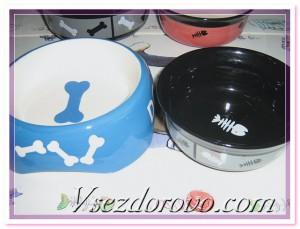 миски для кормления домашних животных