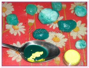 разноцветные мыльные камни