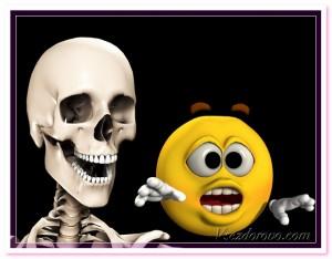скелет юмор фото