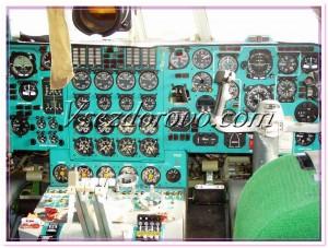кабина пилота самолета