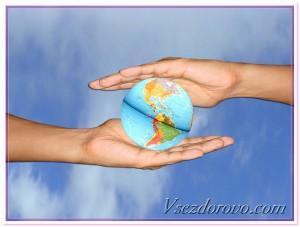 космос земля глобус