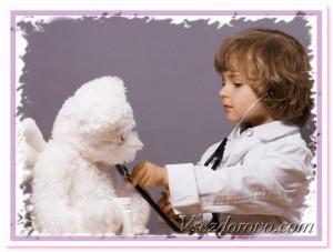 ребенок играет во врача фото