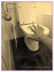 туалетная комната фото