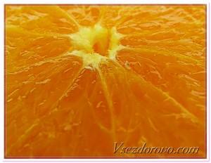 апельсин макро фото