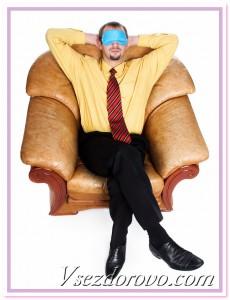 спящий мужчина фото