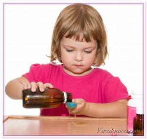 сироп от кашля для маленькой девочки