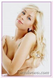 блондинка фото
