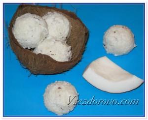 Нежный кокосовый скраб фото