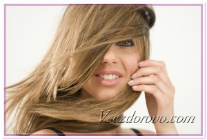 Девушка с красивыми волосами фото