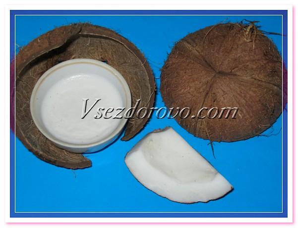 Готовое кокосовое масло переливаем в стеклянную емкость с крышкой