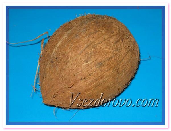 Выбираем кокос без повреждений скорлупы