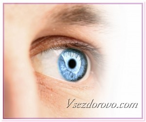 Голубой глаз фото