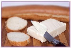 Повседневные продукты питания хлеб масло фото