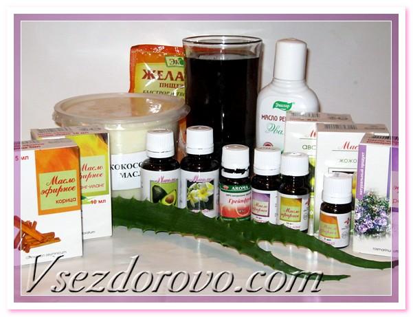 Весь секрет в использовании желатина, базовых и эфирных масел, активизирующих кровообращение в коже головы и ускоряющих рост волос