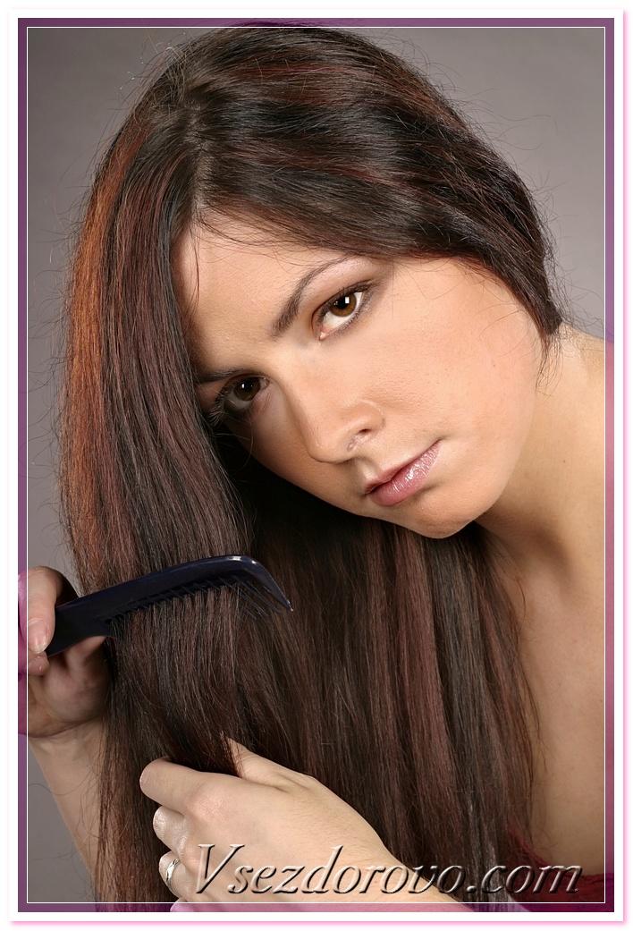 девушка с шикарными длинными волосами фото