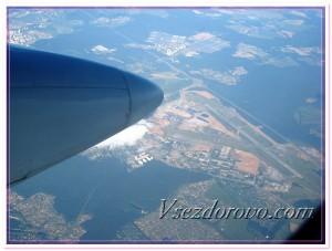 Вид во время полета фото