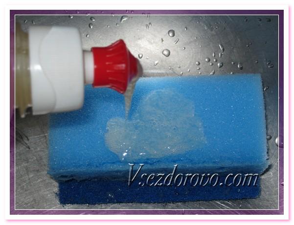 Жидкость превращается в густой гель