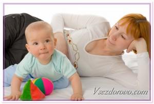 Мама и любознательный ребенок фото