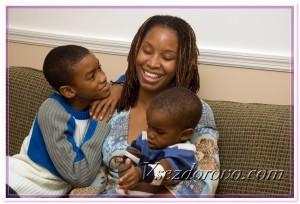 Темнокожая семья фото
