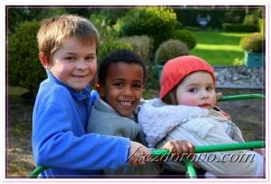 Дети разных рас фото