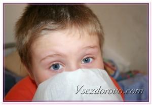 Аллергический насморк фото
