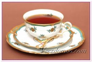 Чашка с черным чаем фото