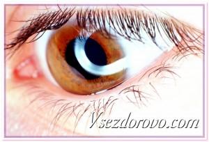 Глаз макрофото