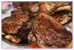 Жареное мясо фото
