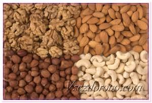 Орехи - источник цинка фото