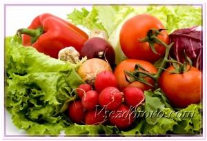 Красивые свежие овощи фото