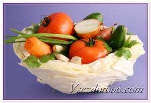 Вегетарианская еда фото
