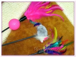 Палочки с перьями фото