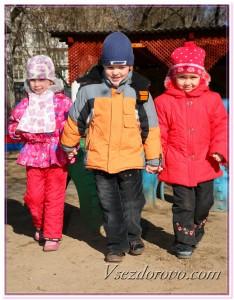Дети в детском саду фото