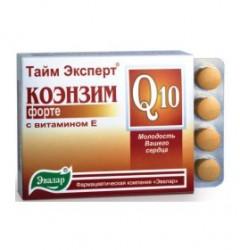 КОЭНЗИМ-Q10-форте-с-витамином-Е(Эвалар)