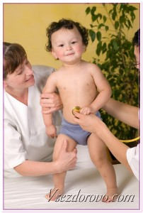 Обследование ребенка фото