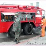 пожарная машины фото