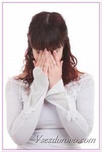 Расстроенная девушка фото