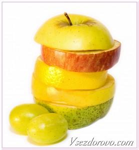фрукты с высоким содержанием витамина С