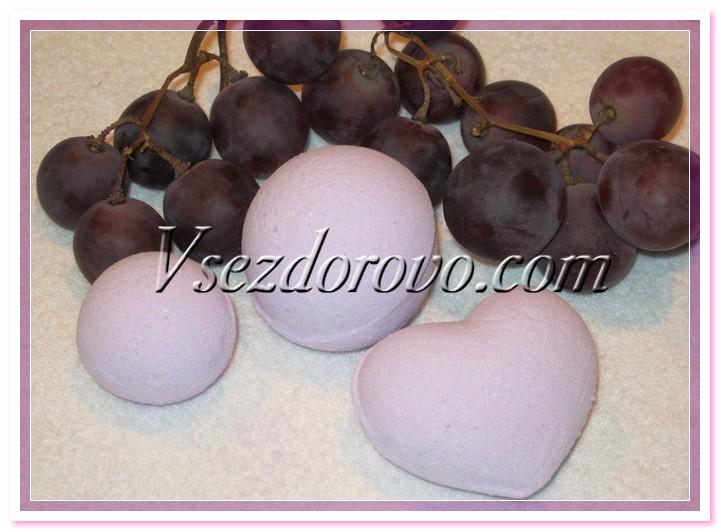 Бомбочка - синий виноград