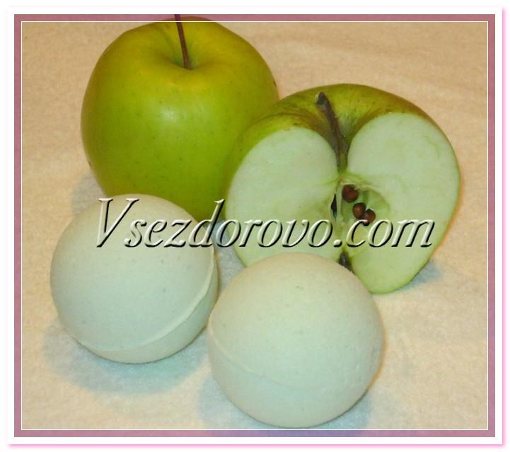 Яблочная бомбочка