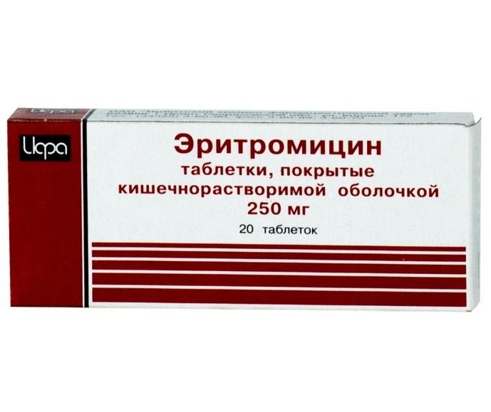 Эритромицин отзывы