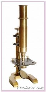 старинный микроскоп фото