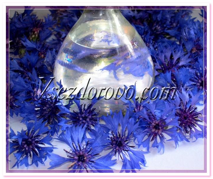Гидролат василька фото
