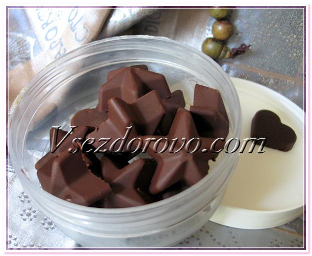 Маска из тертого шоколада