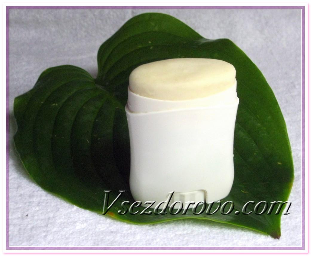 Натуральный дезодорант фото