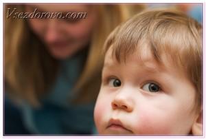 испуганный ребенок фото